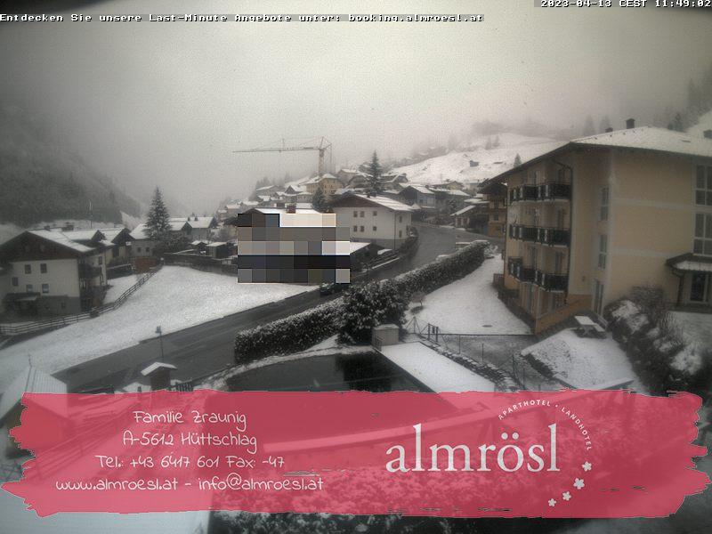 Webcam Hüttschlag Hotel Almrösl